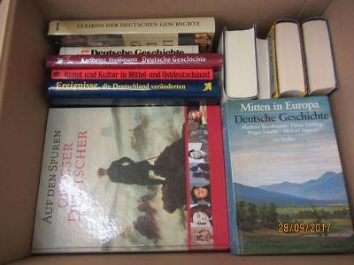 21 Bücher Bildbände Kunst Kultur Geschichte deutsche Geschichte