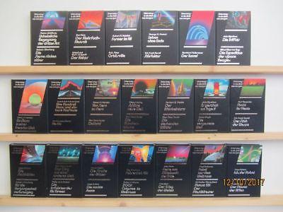 20 Bücher Romane Unterwegs in die Welt von Morgen Science Fiction Fantasy