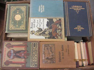 52 Bücher antiquarische Bücher