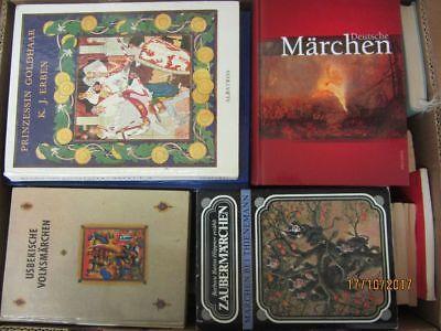 44 Bücher Märchenbücher Märchen nationale und internationale Märchen
