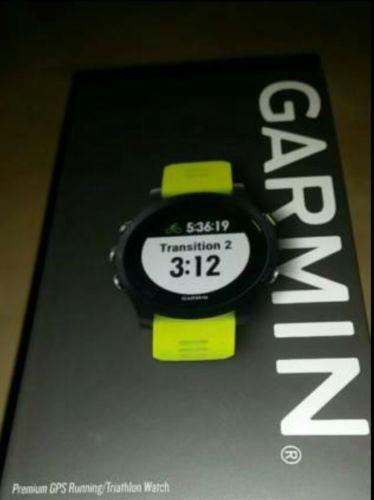 NEU Garmin Forerunner 935 (010-01746-04) - Schwarz GPS -- NEU MIT RECHNUNG