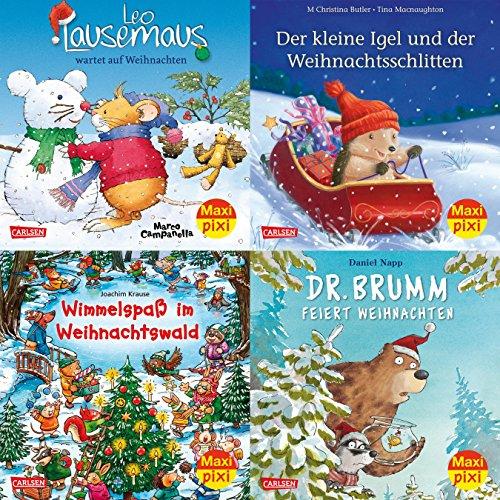 Maxi-Pixi-4er-Set 62: Bald nun ist Weihnachtszeit (4x1 Exemplar)