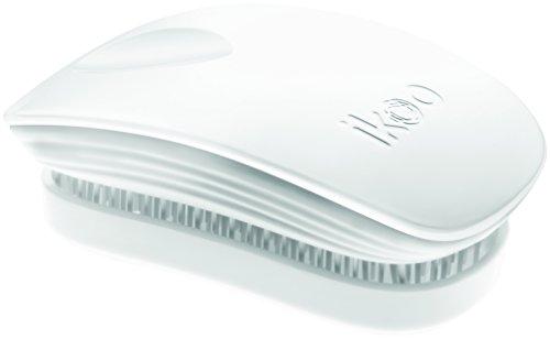 ikoo, Haarbürste pocket, platinum white