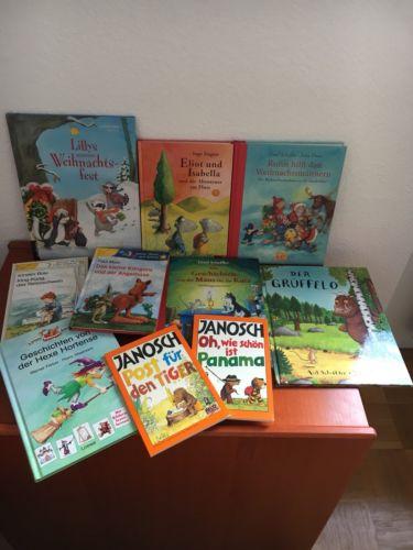 Bücherpaket 10 Kinderbücher Erstleser, ab 1.Klasse o. zum Vorlesen z.T. NEU