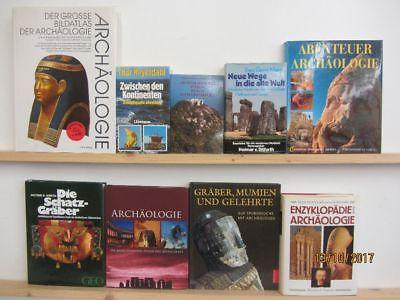 22 Bücher Bildbände Archäologie Ausgrabung Schatzgräber Spurensuche