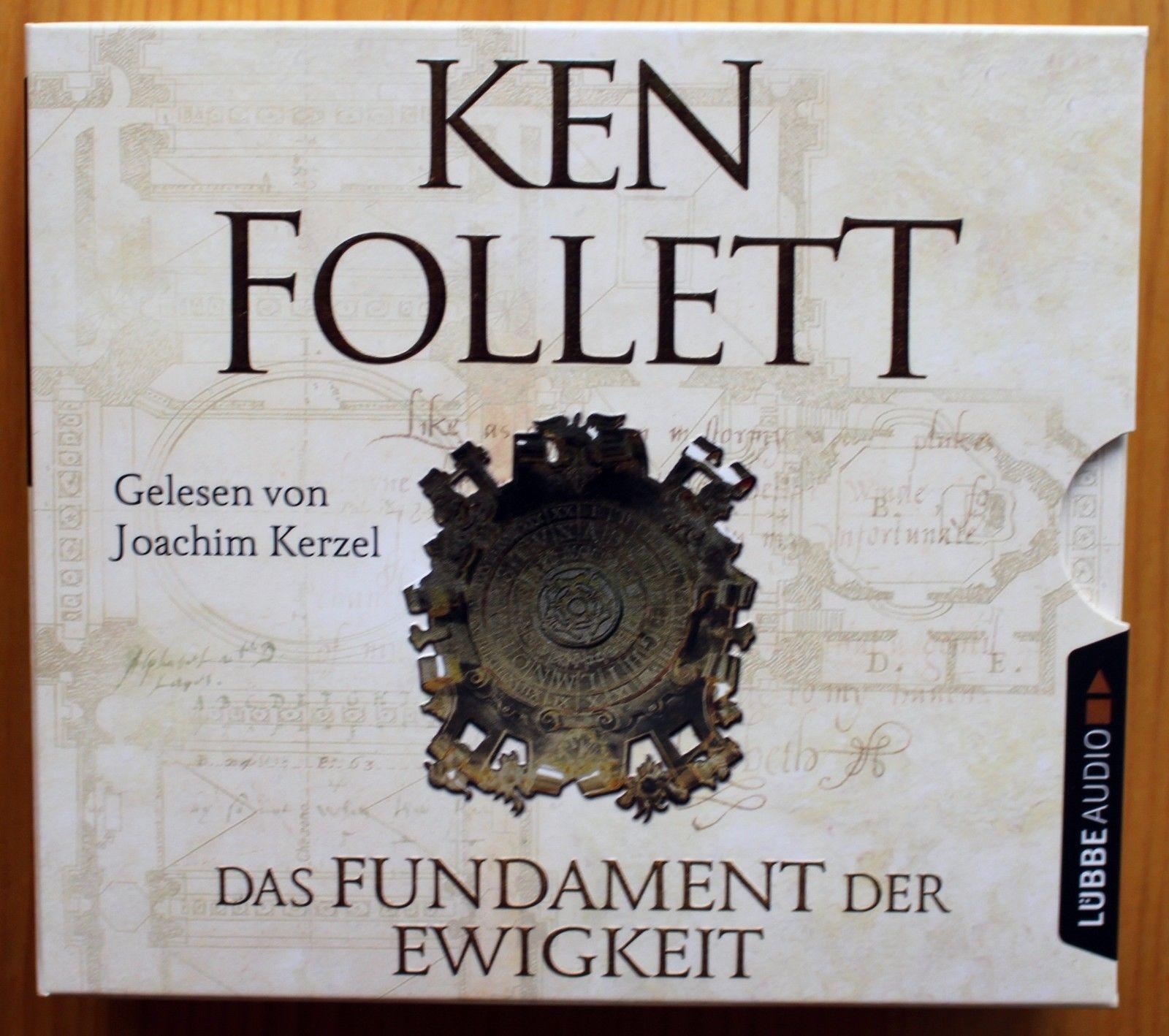 Ken Follett - Das Fundament der Ewigkeit - Hörbuch 12 Audio CD´s - neuwertig TOP