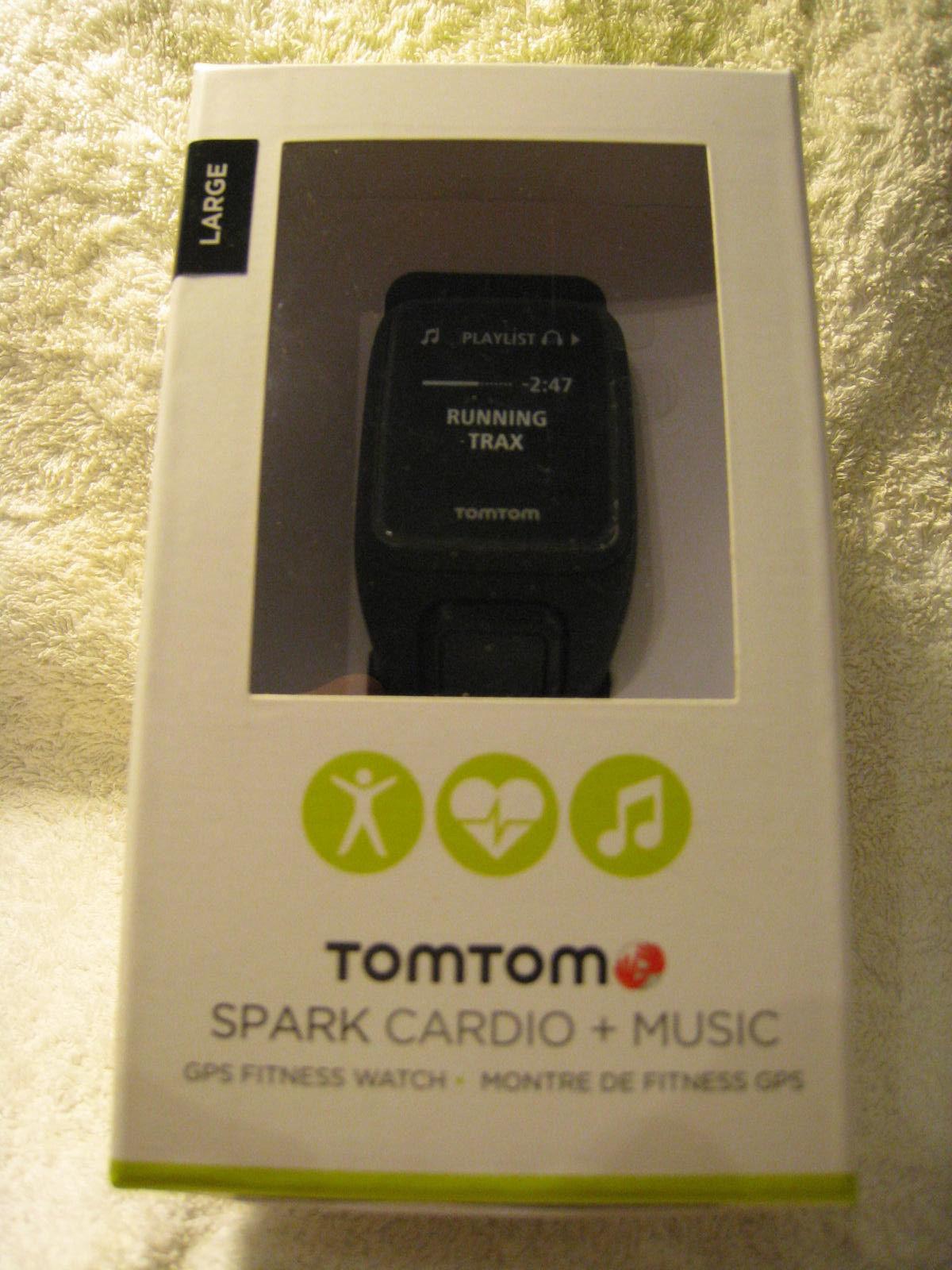 TOMTOM Spark Cardio + Music,large,schwarz,wasserdicht bis 50m,neu&ovp