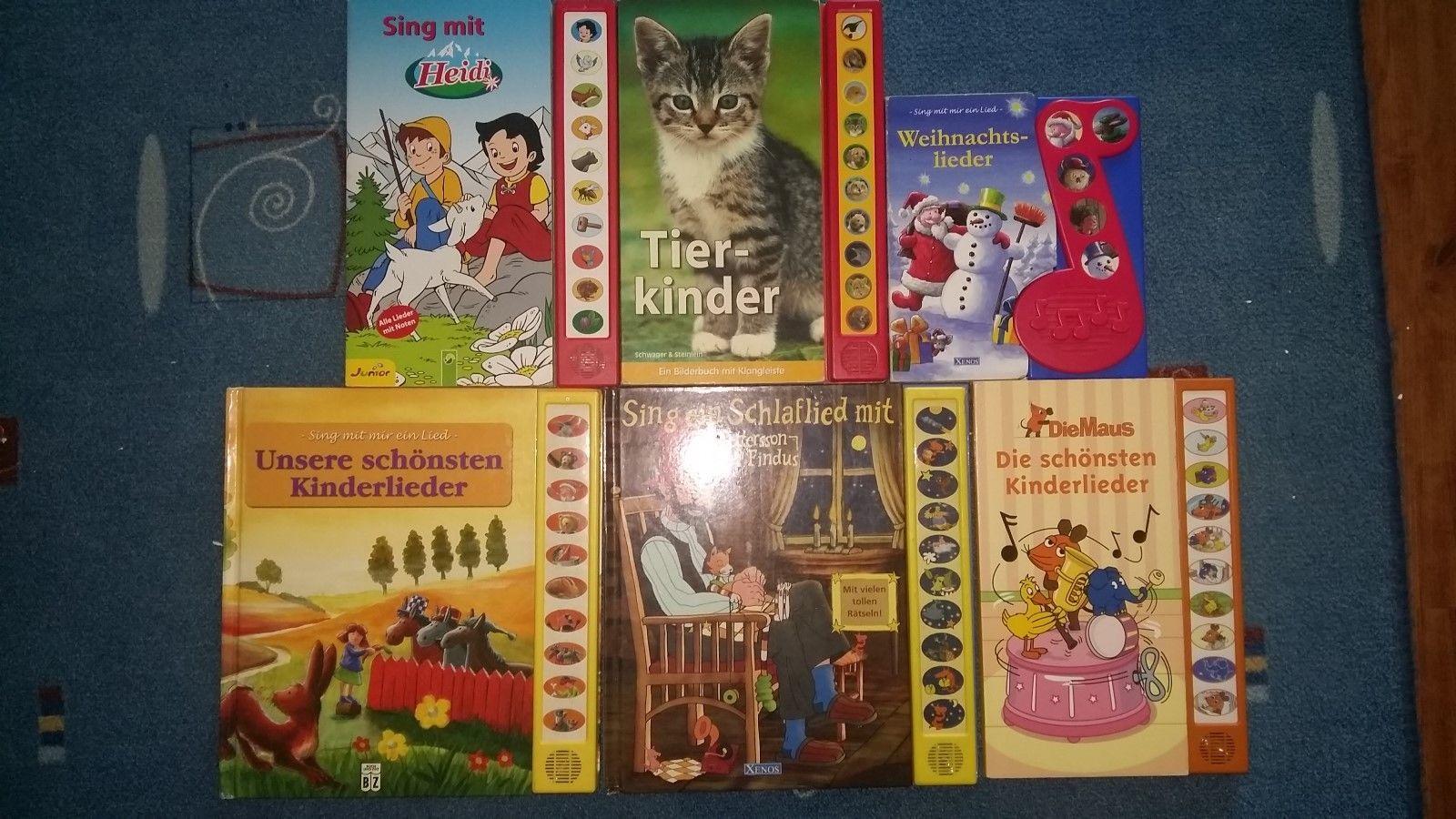 Kinderbücher Paket mit Musik
