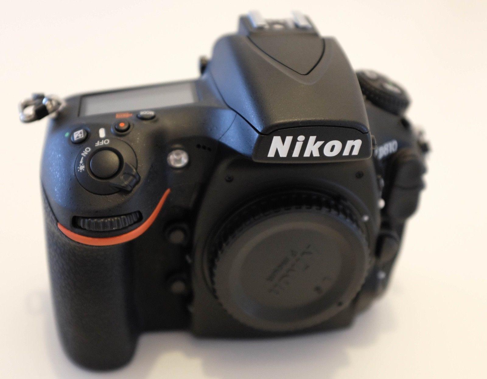 Nikon D810 Gehäuse, 2900 Auslösungen, wie neu, + Originalverpackung