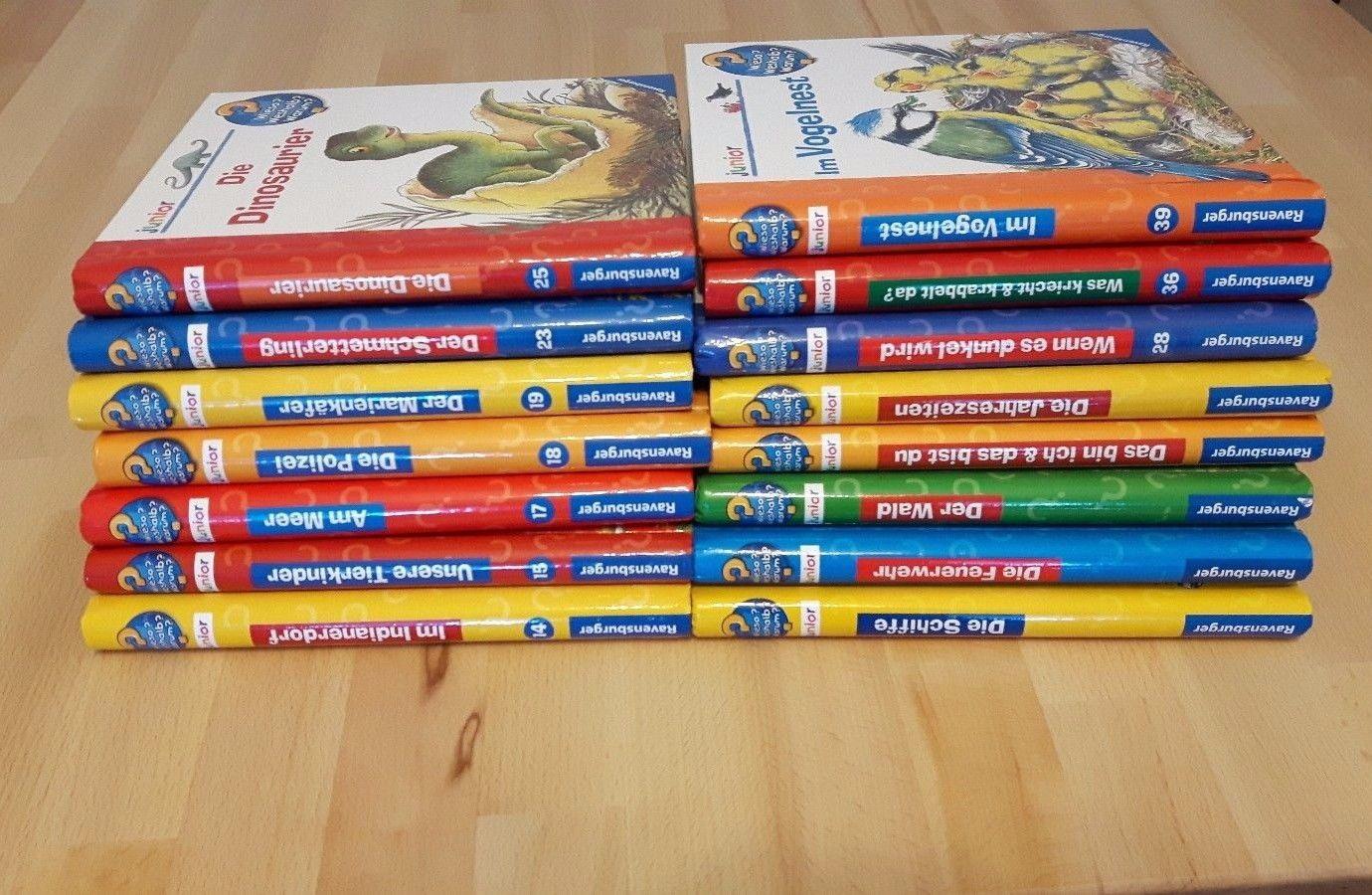 Wieso? Weshalb? Warum? Junior 15 super Bücher für Kinder