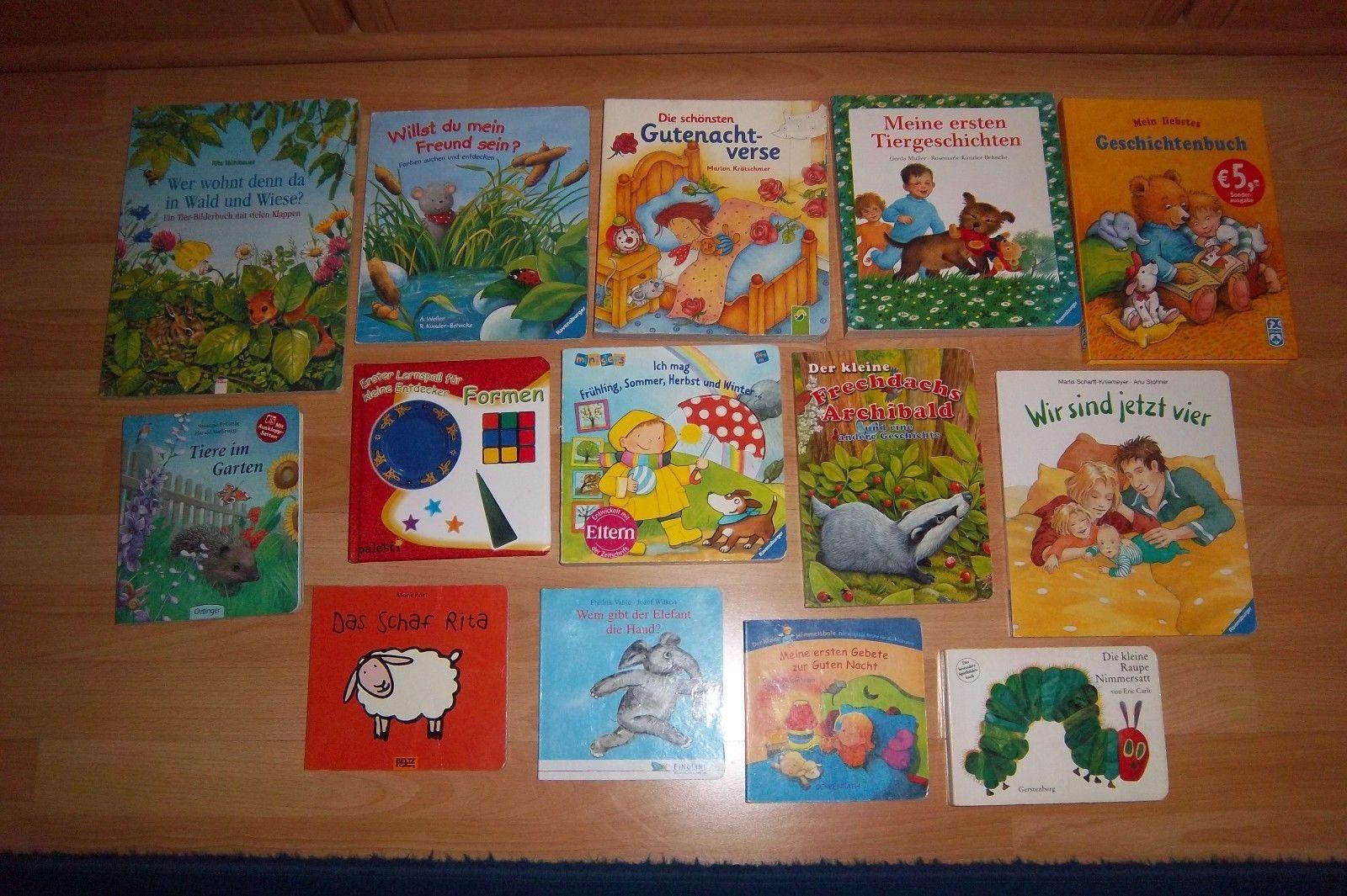 Bücherpaket 1 @ 14 verschiedene Kinderbücher