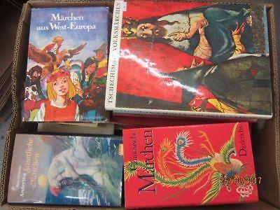40 Bücher Märchenbücher Märchen nationale und internationale Märchen