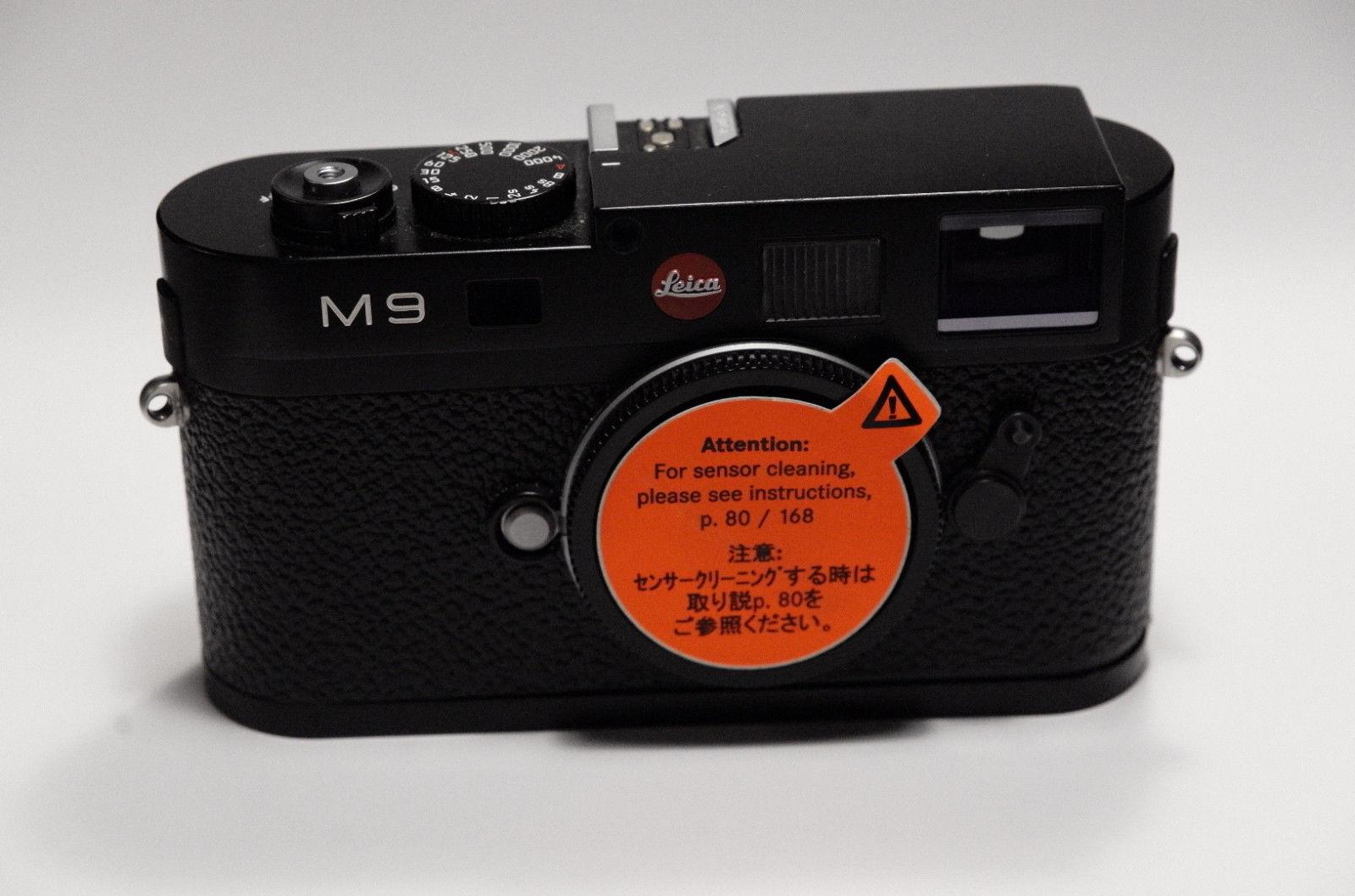 Leica M M9 18 MP 0MP Digitalkamera - schwarz mit zusätzlichem Handgriff