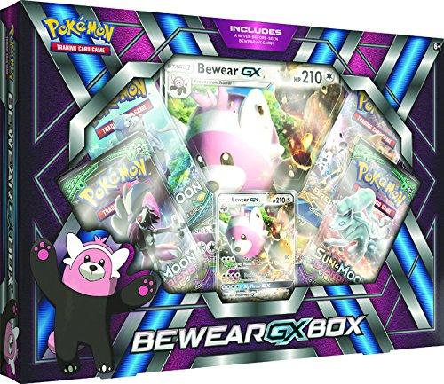 Pokémon 290-80298 - Bewear-GX Box - Englisch, Kartenspiel