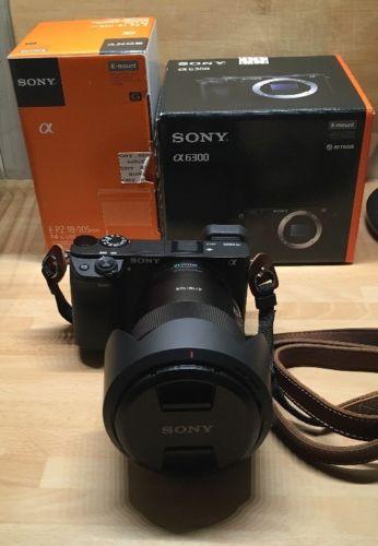 Sony Alpha ILCE 6300 mit Sony E PZ 18-105mm Objektiv - Wie Neu!!!