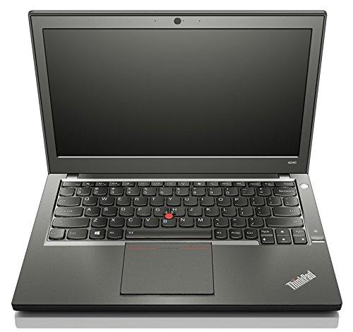 Lenovo Thinkpad X240 i5 1,9 4,0 250SSD Hintergundbeleuchtete Tastatur ( Backlight) oLW 12 1366 x 768 IPS UMTS WLAN BL CR WIN10 (Zertifiziert und Generalüberholt)