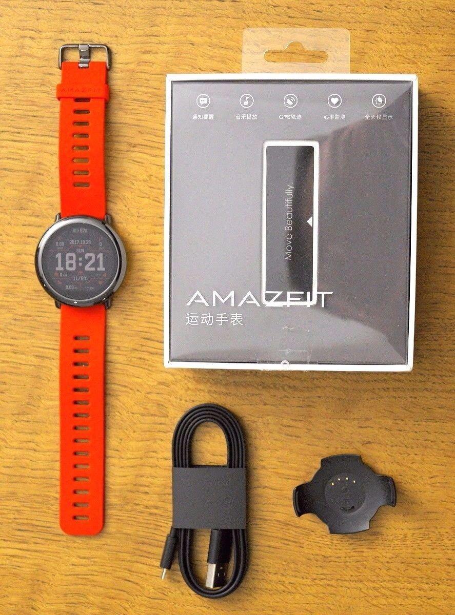 Huami Amazfit Pace - GPS Fitnesstracker, Smartwatch, ungetragen