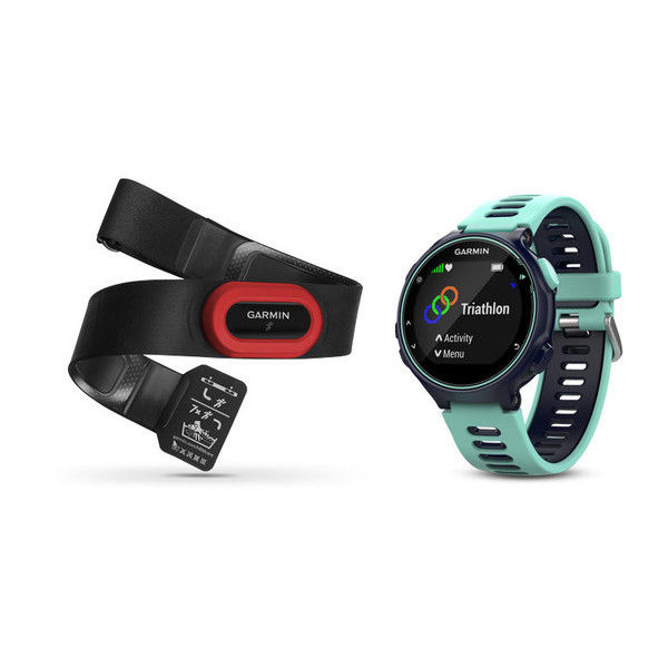 Garmin Forerunner 735xt FrostBlau Multisport RunBundle mit Brustgurt GPS NEU