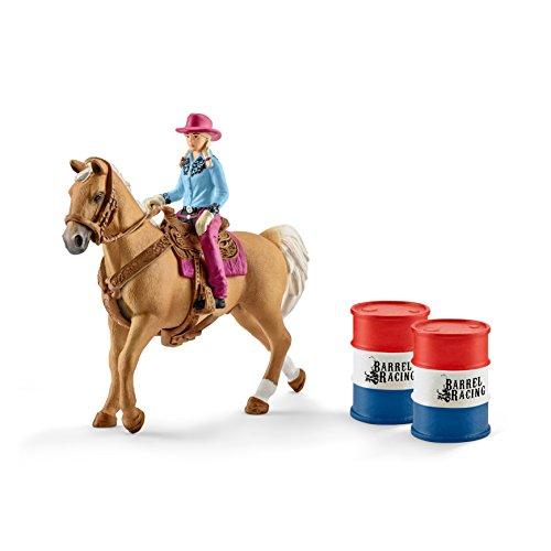 Schleich 41417 - Barrel racing mit Cowgirl - Spielzeug