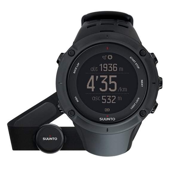 Suunto Ambit3 Peak Black (HR) Sportuhr GPS-Watch