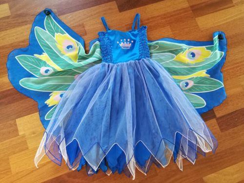 Jako-o Schmetterlingskostüm, Kleid 116/122, 1x getragen