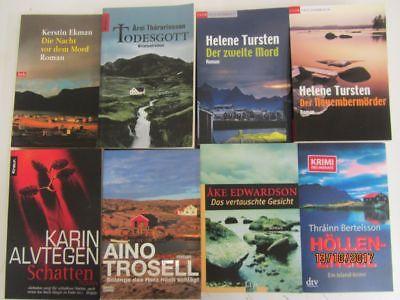 46 Bücher Romane Krimi Thriller Psychothriller skandinavische Krimi  Top Titel