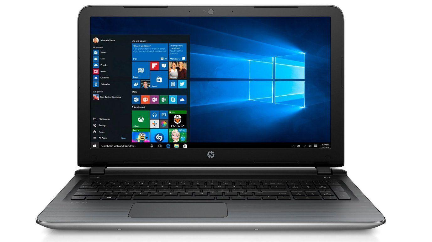 HP Notebook 15,6 Zoll - Quad Core 4 x 1,80 GHz - 1000 GB - 8 GB - Windows 10 Pro