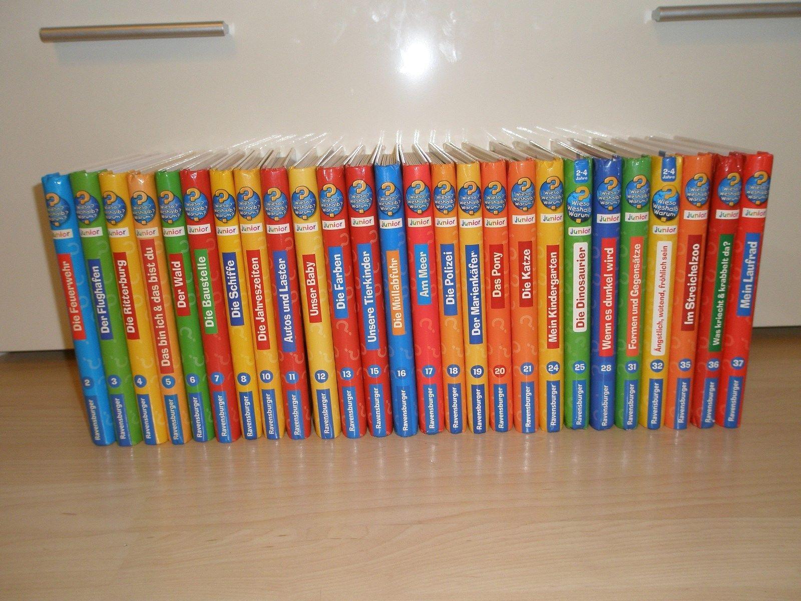 Wieso Weshalb Warum Junior 26 Bücher TOP!