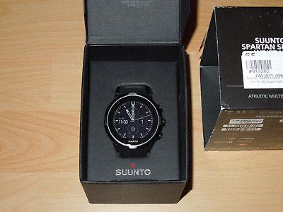 SUUNTO Spartan Sport Wrist HR - GPS-Uhr Sportuhr m. Aktivitätentracker (schwarz)