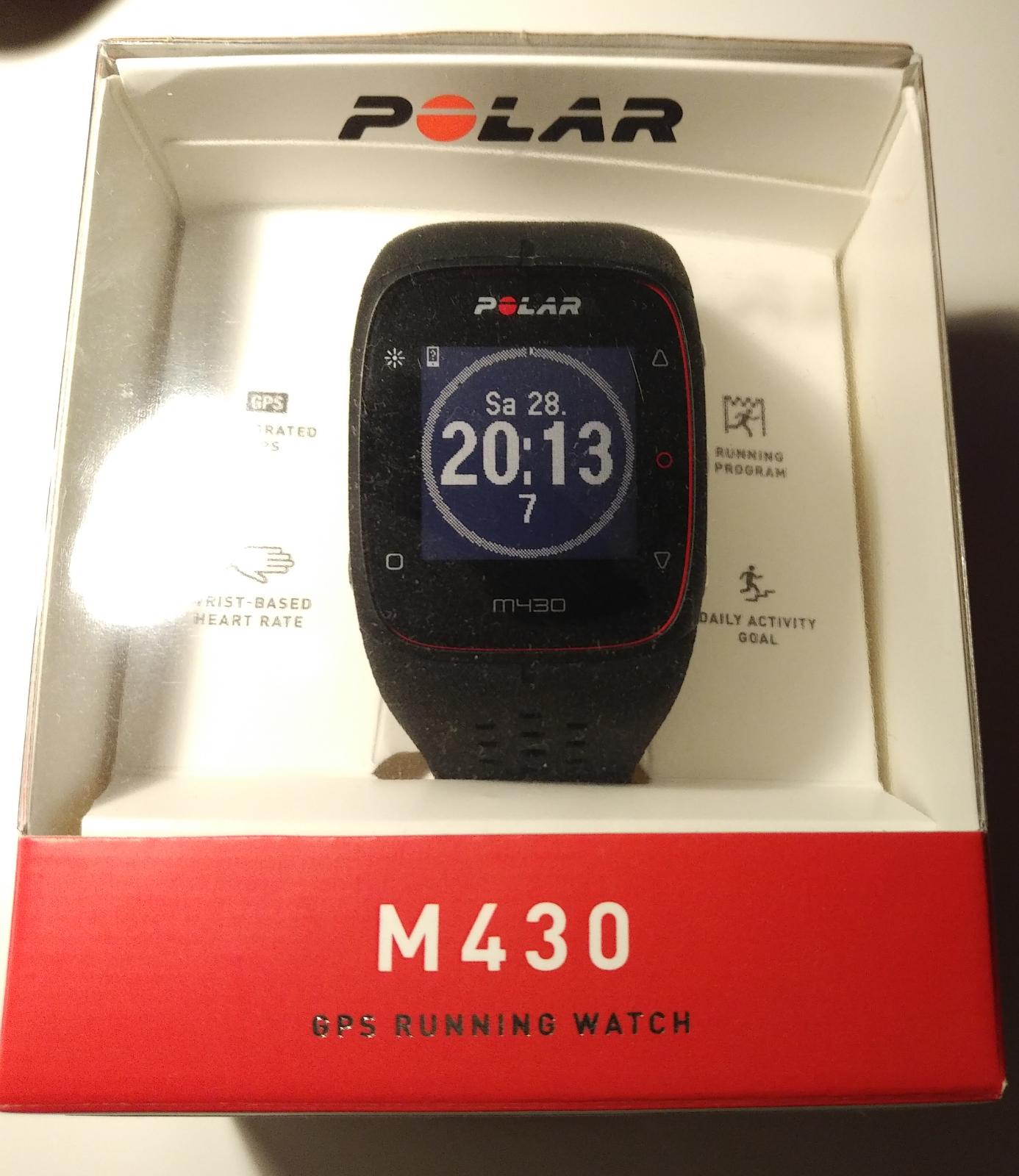 Polar M430 GPS Running Watch, in Originalverpackung!