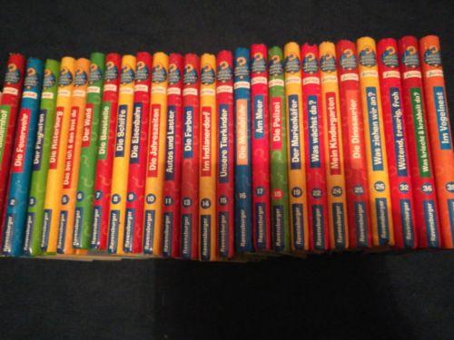 25  Wieso Weshalb Warum Junior Bücher  Sammlung Paket  2 - 4 Jahre Konvolut