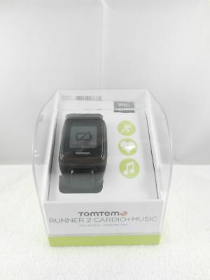 TomTom Runner 2 Cardio + Musik GPS Uhr, Tracker Fitnesuhr Sportuhr Gr.S