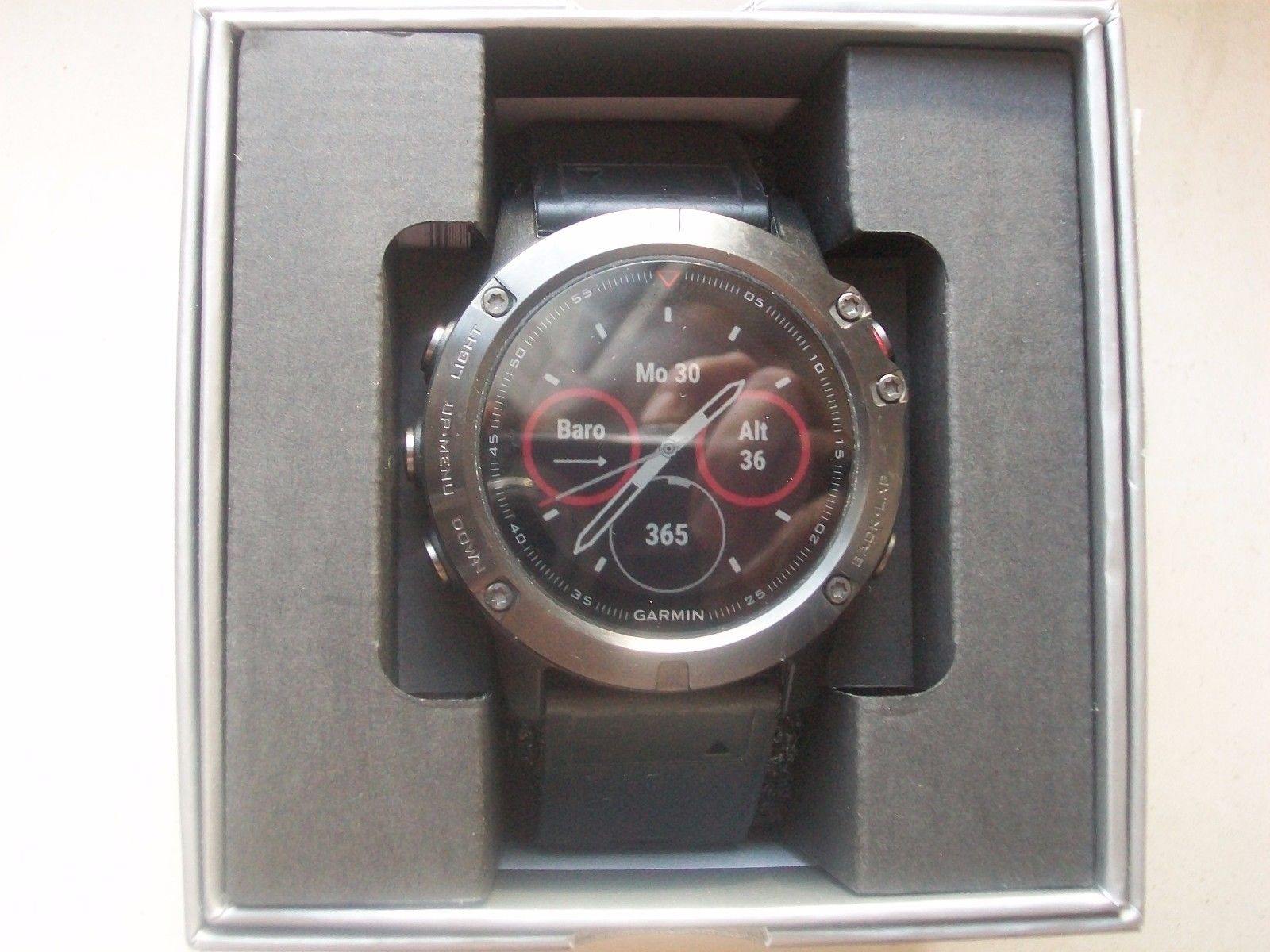 Garmin Fenix 5X Saphire GPS-Multisport-Smartwatch