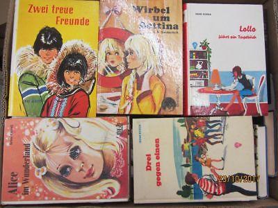 54 Bücher ältere Kinderbücher ältere Jugendbücher ältere Jugendromane Paket 1