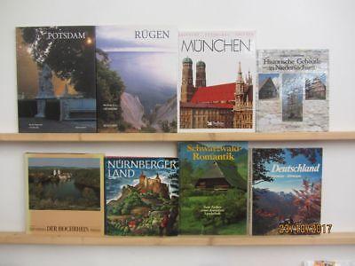 22 Bücher Bildbände Deutschland deutsche Bundesländer deutsche Städte