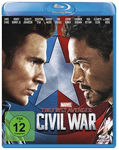 The First Avenger: Civil War [Blu-ray]