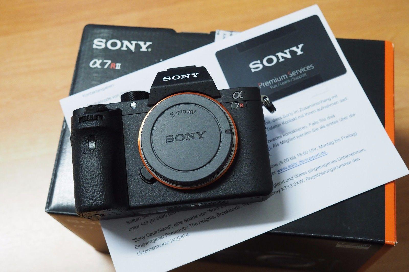 Sony A7R II, ILCE-7RM2 nur Gehäuse, 4 Jahre Gar., neuwertig, erst 2.588 Ausl.