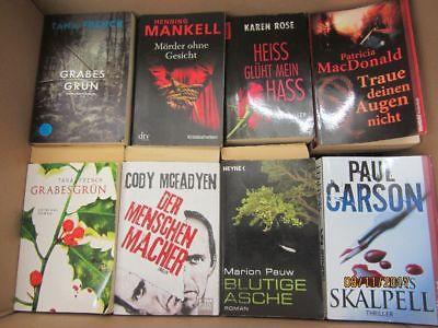 51 Bücher Romane Krimi Thriller Psychothriller  Top Titel Bestseller