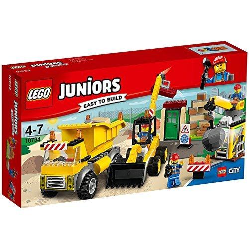 Lego Juniors 10734 - Große Baustelle, Ideales Geschenk für Kinder