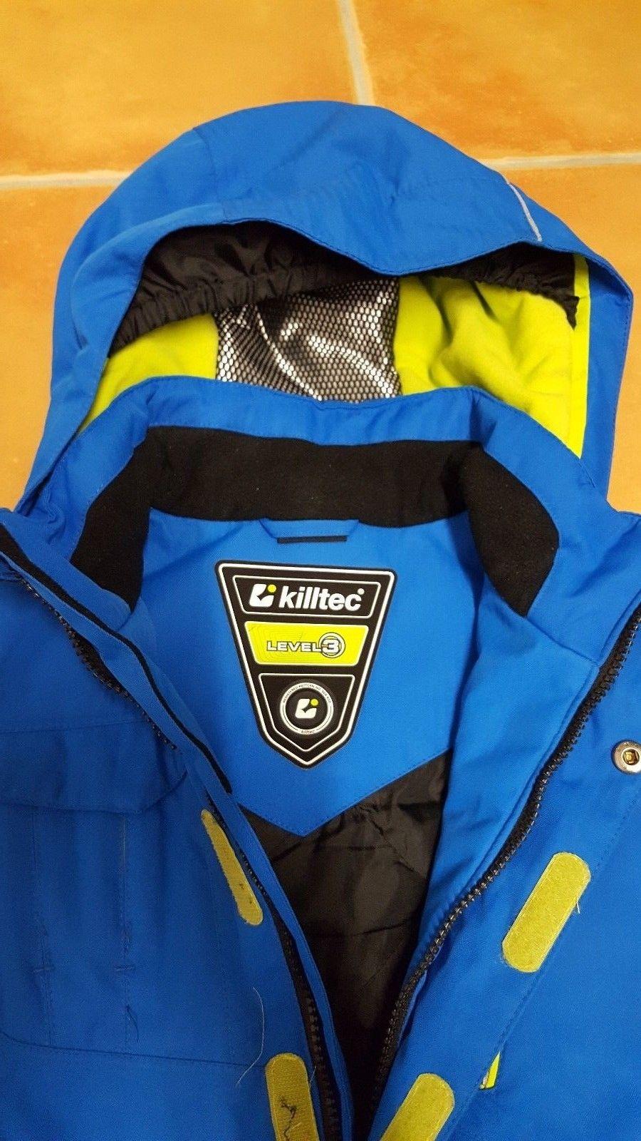 TOP Winterjacke von KILLTEC, wNEU, mit Etikett, Skijacke, Gr. 128, viele Fotos!