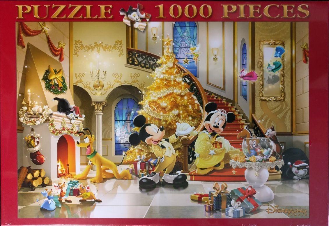 Disney Mickey Mouse Disneyland Paris Sonderauflage 1000 Teile Puzzle Clementoni