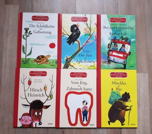Die schönsten Kindergeschichten der DDR - 6 Kinderbücher