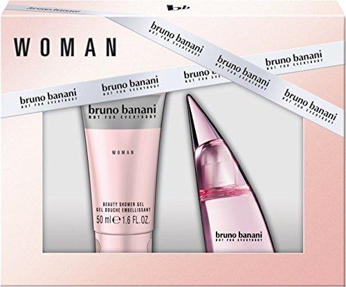 Bruno Banani Woman Eau de Toilette Spray 20 ml + Shower Gel 50 ml, 70 ml