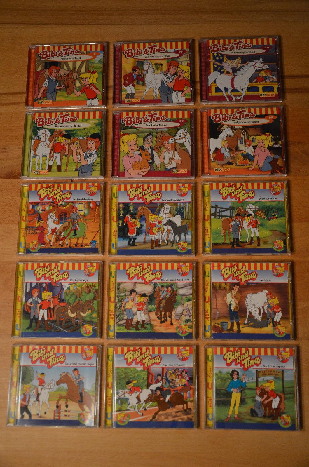Paket Kinder CD`s Bibi und Tina  Hörspiel 15 CD`s  TOP