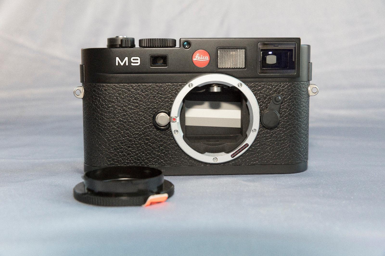 Leica M M9 18.0MP - Schwarz/Black - generalüberholt - reconditioned