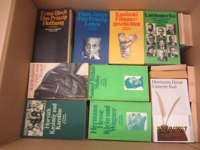 117  Bücher Taschenbücher suhrkamp Verlag