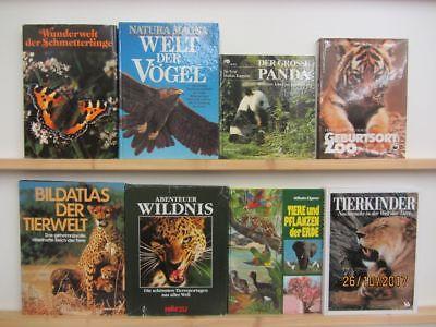 21 Bücher Bildbände Tiere Tierbildbände Säugetiere Insekten Vögel u.a.
