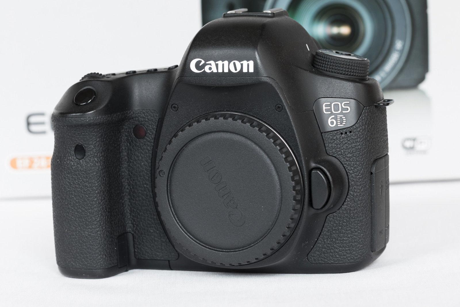 Canon EOS 6D 2.2 MP SLR-Digitalkamera - Schwarz (Nur Gehäuse)