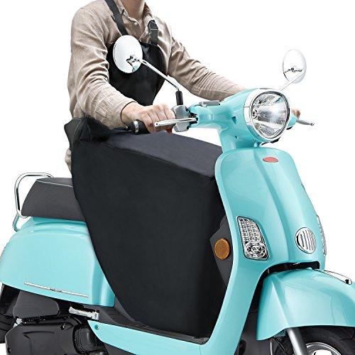 YOHOOLYO Beinschutz Roller Beinschutzdecke universal Bein-/Wetterschutz für Motorradfahrer Schwarz