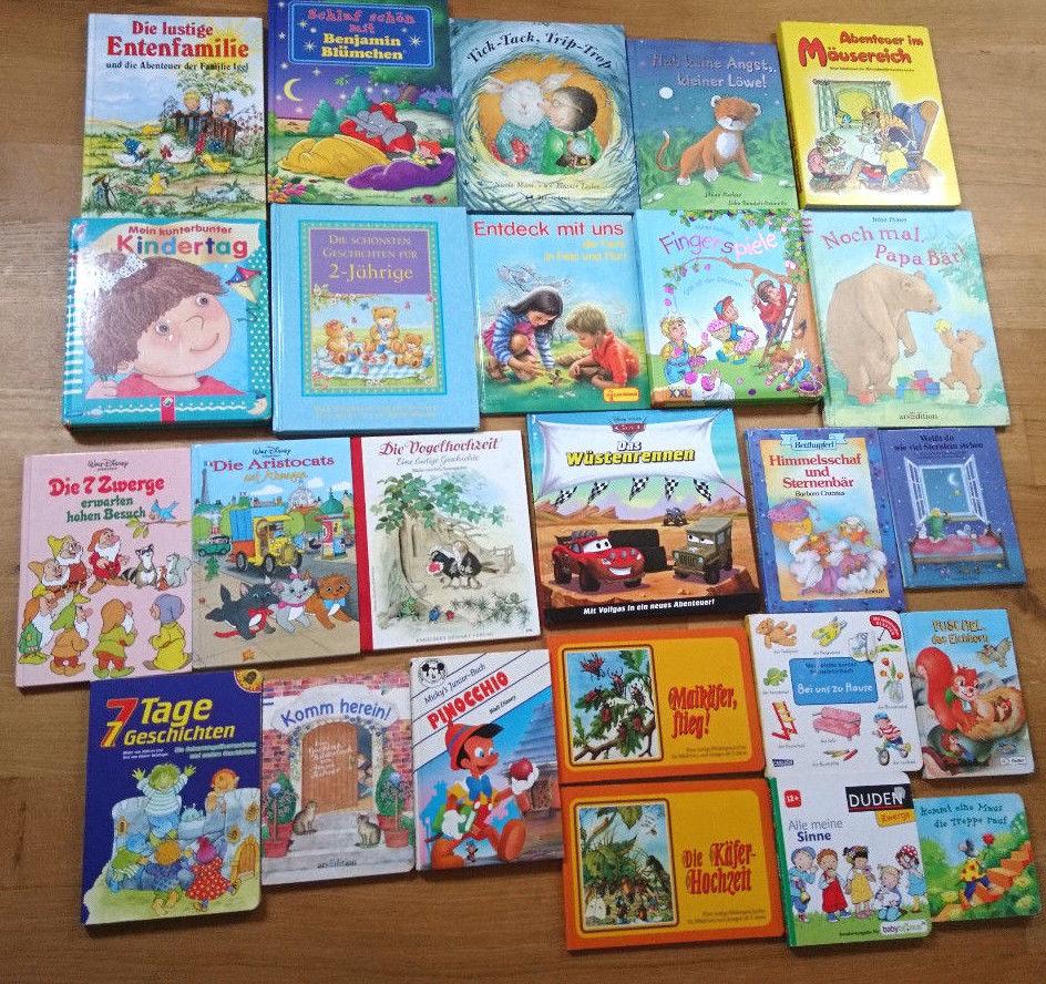 25 Kinderbücher Paket Kinder Bücher Pappbücher und Vorlesebücher